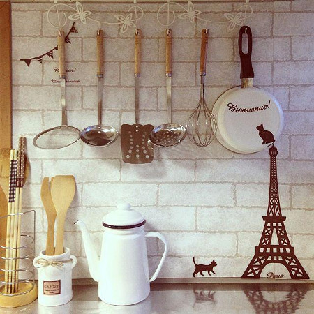 キッチン道具はすぐ取り易い場所に収納する