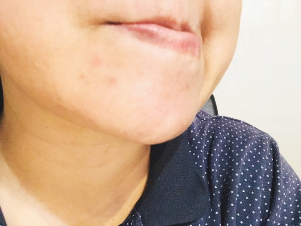 米肌澄肌ホワイトCCクリーム口コミすっぴん2