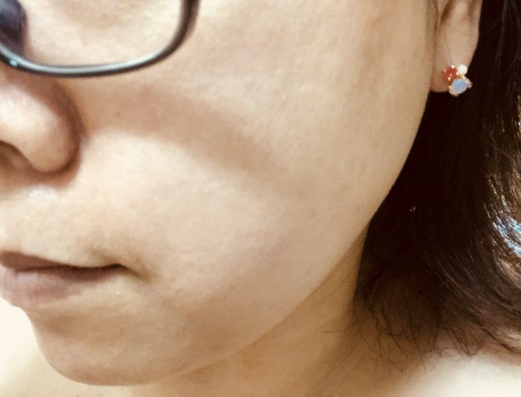 米肌澄肌ホワイトCCクリーム口コミアフター1