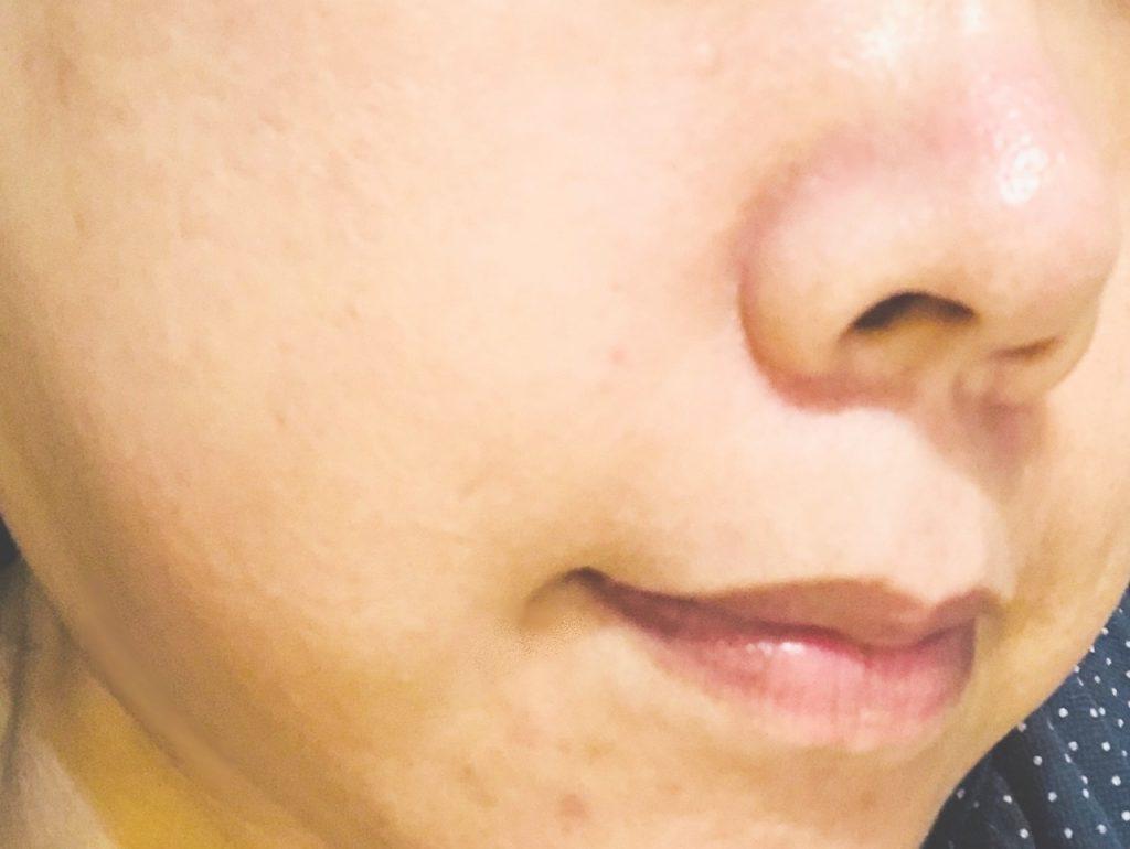 米肌澄肌ホワイトCCクリーム口コミすっぴん3