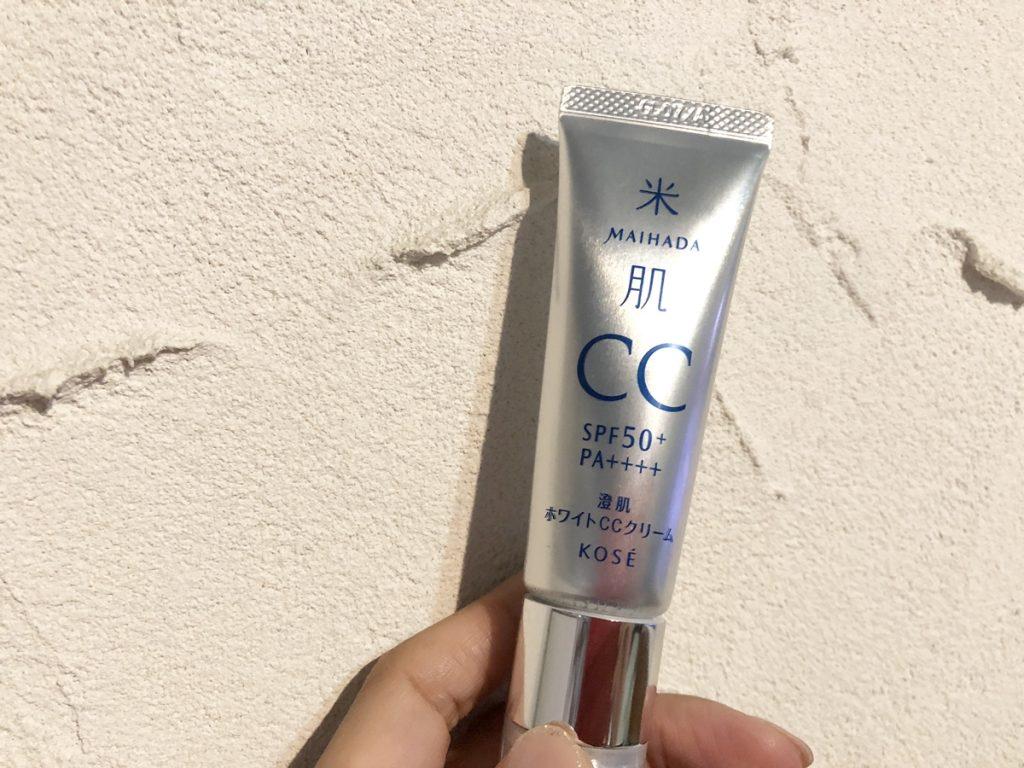 米肌澄肌ホワイトCCクリームの効果と評価