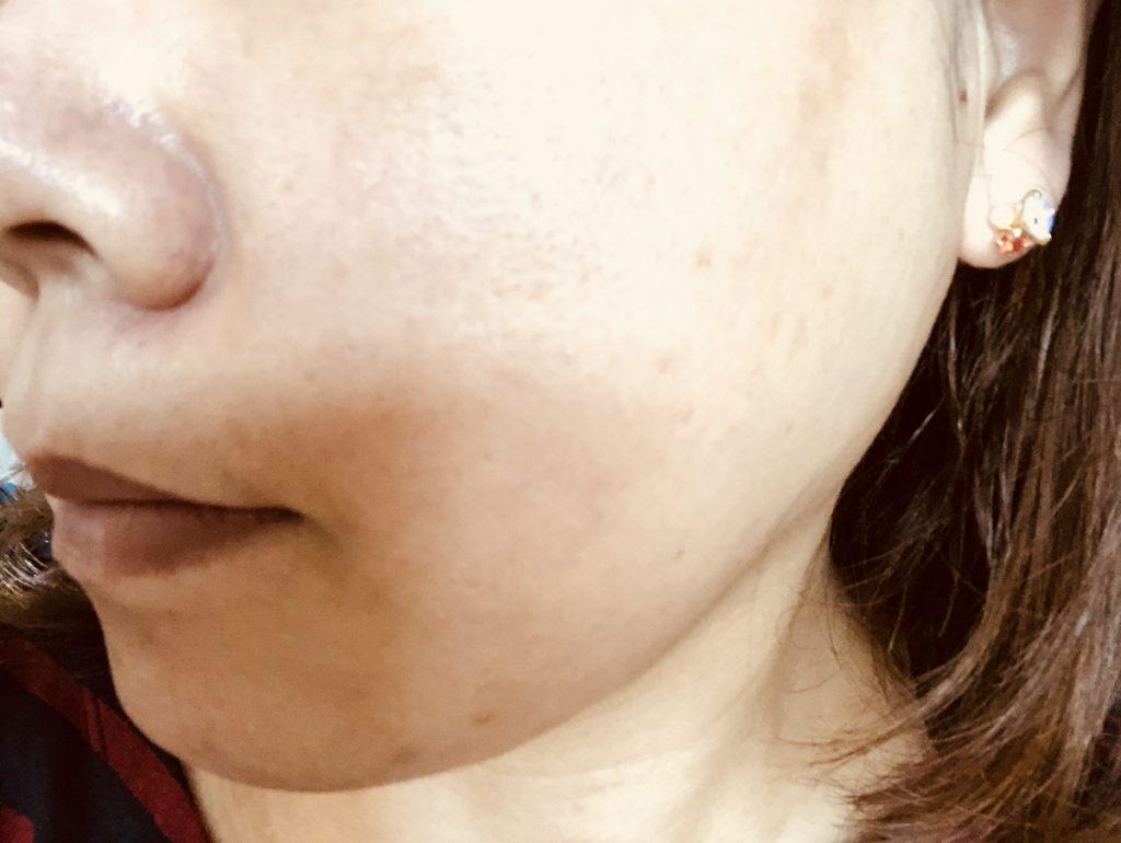 米肌澄肌ホワイトCCクリーム口コミすっぴん4