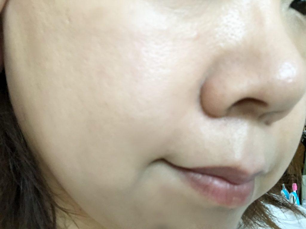米肌澄肌ホワイトCCクリーム口コミ二度塗り1