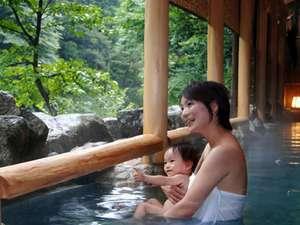 赤ちゃんがいてもマナーを守って温泉に入る