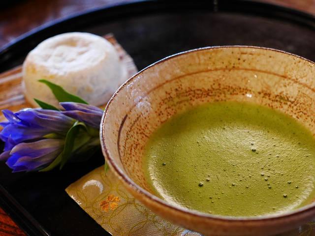 カテキン豊富な日本茶(緑茶)