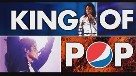 5月6日、2009年に死去した米歌手マイケル・ジャクソンが華麗にダンスする姿が、ペプシの缶で蘇ることになった。写真はロイターテレビの映像から(2012年 ロイター/Reuters TV)