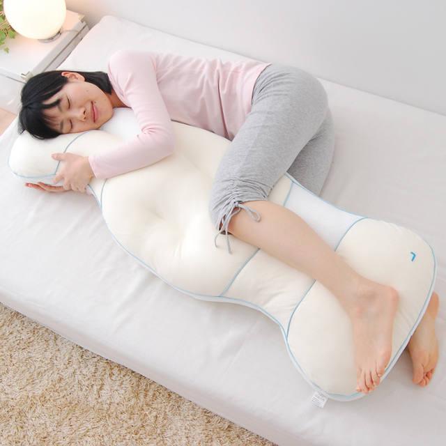 抱き枕で不快な症状改善ができる!?