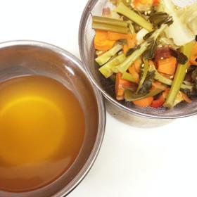 野菜くずからとる出汁