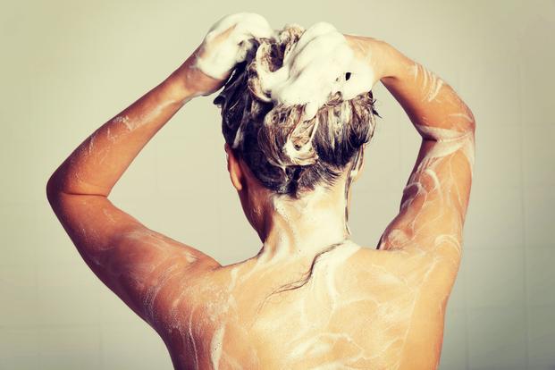 上手な洗髪は、シャンプーひかえめ