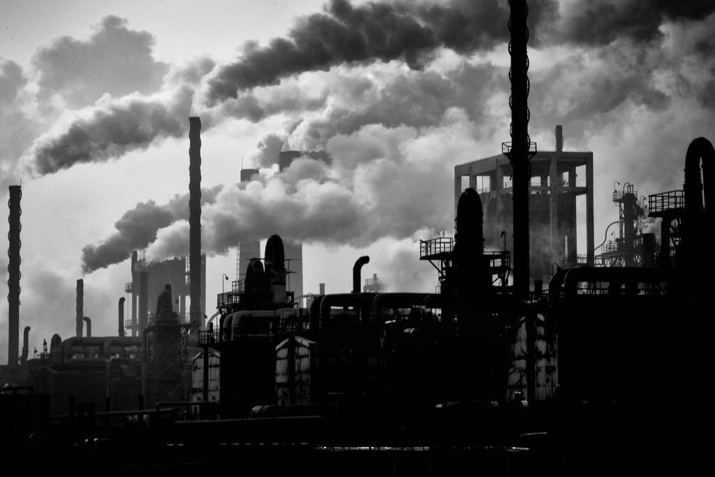 工場の大気汚染