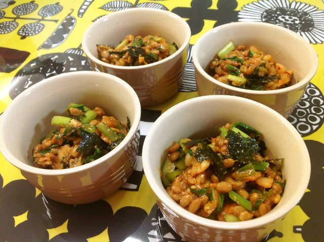 韓国風キムチ納豆