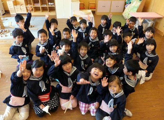 笑顔の子どもたち