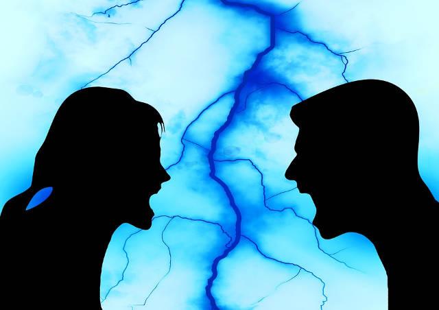誹謗中傷ばかりの貶し合いの夫婦喧嘩をしない