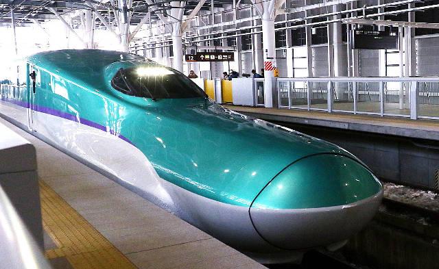 新函館北斗駅の北海道新幹線の車両