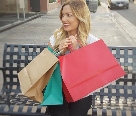 買い物をしてストレス発散!