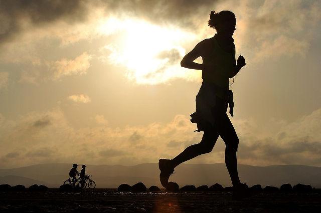 適度な運動をして健康的な生活を送る
