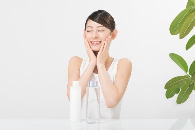 素肌の水分補給