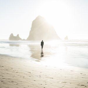 紫外線の多いビーチ